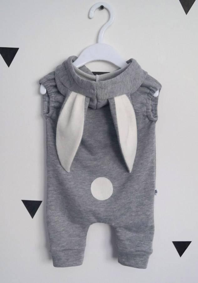 One Piece Lovely Rabbit Baby Crawl Suit