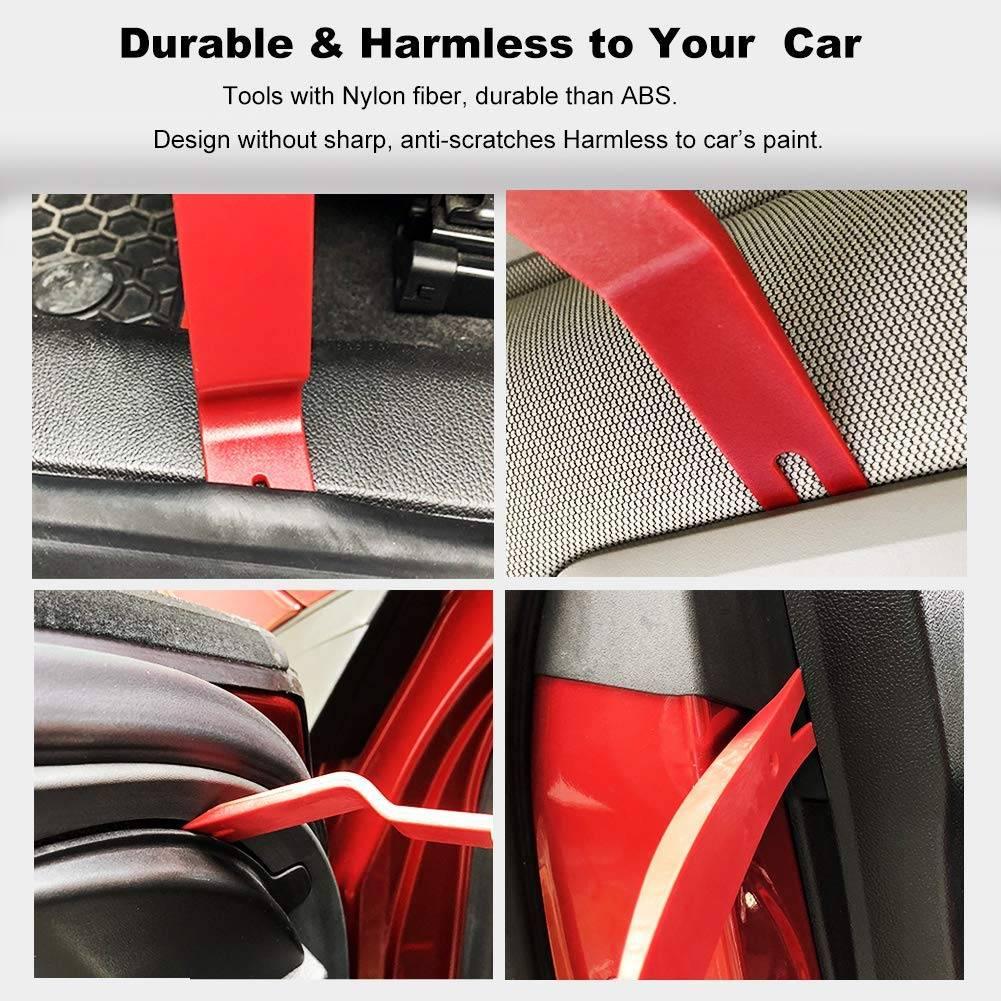 25pcs Car Door Interior Trim Removal Pry Tool Kits Dash