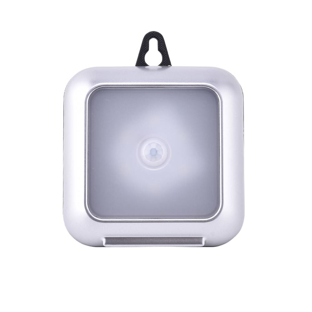 Lighting Basement Washroom Stairs: Battery Operated LED PIR Motion Sensor Night Light Cabinet