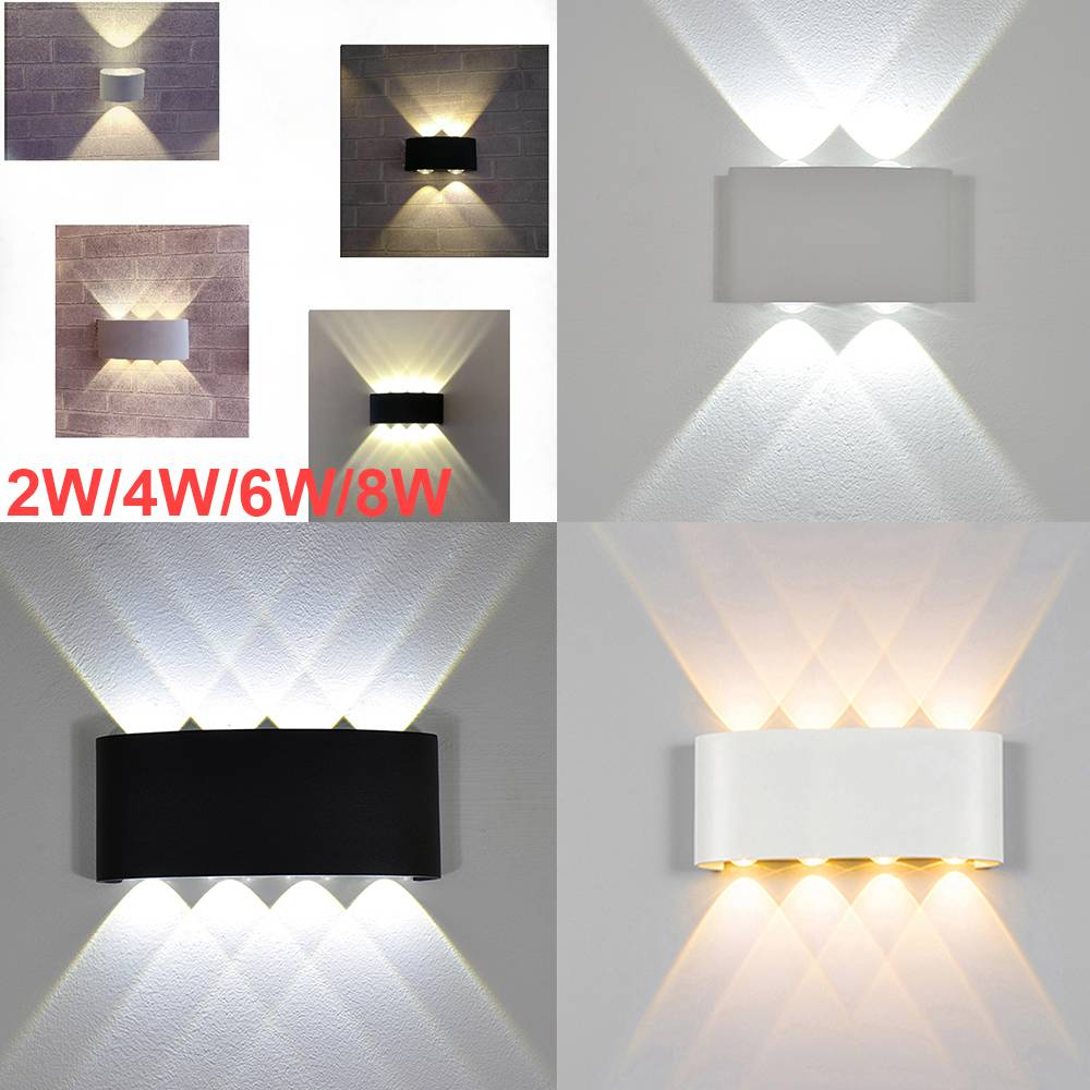 Details About Led Wall Hanging Light Modern Bedroom Spot Lighting Up Down Lamp Home Decor Usa