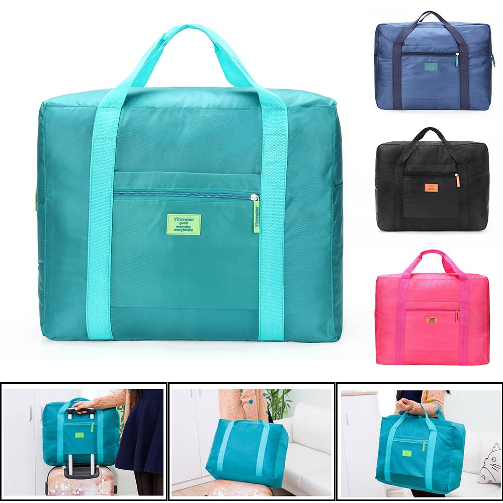 UK Travel Big Size Foldable Luggage Bag Clothes Storage Carry-On Duffle Bags Hot