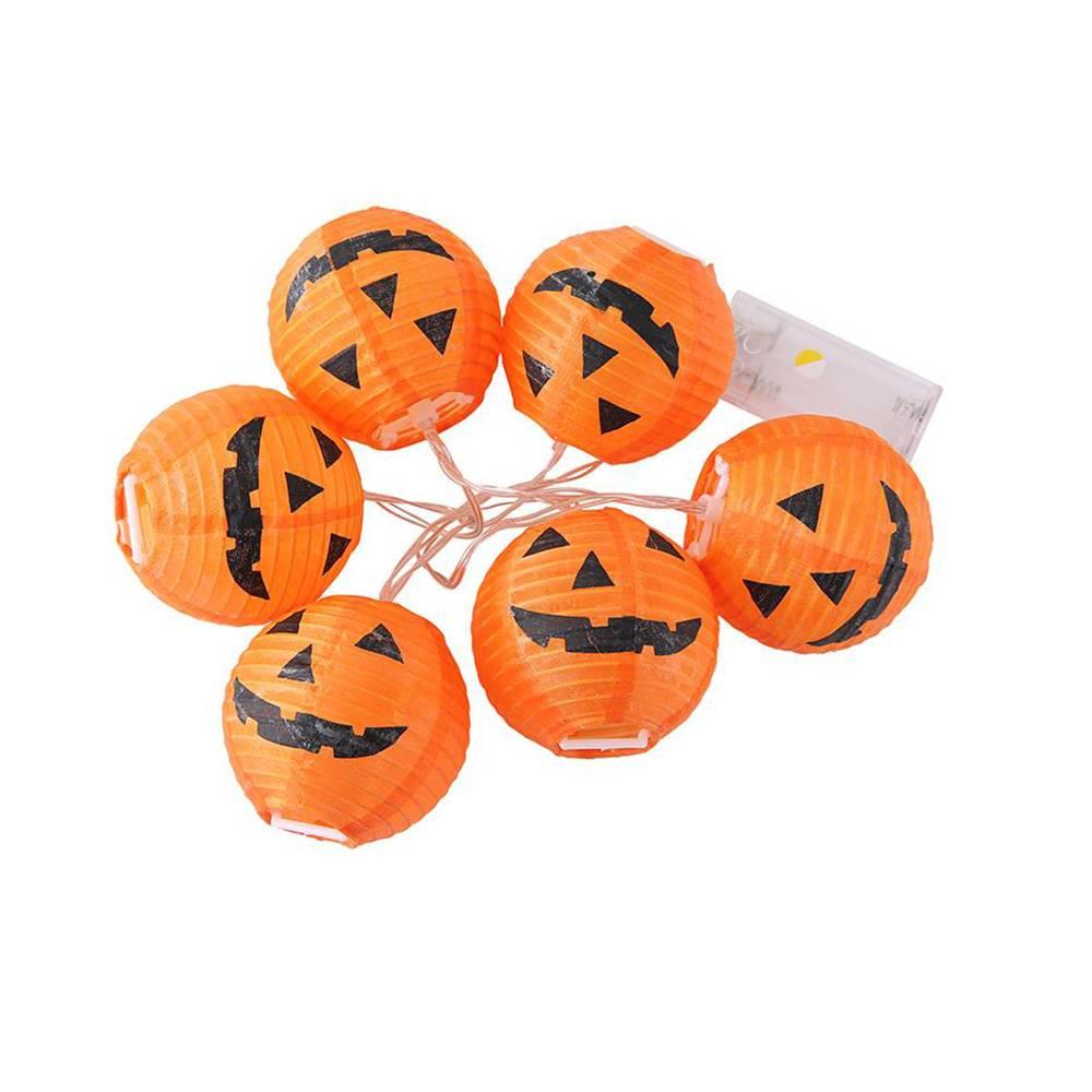 Halloween LED String Light Pumpkin Ghost Eyeballs Funny