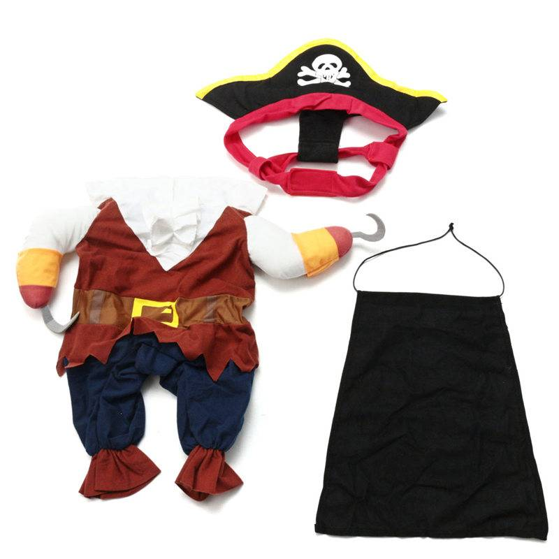 Dog Cat Pet Christmas Halloween Show Party Fancy Dress Costume Outfit Clothes 5