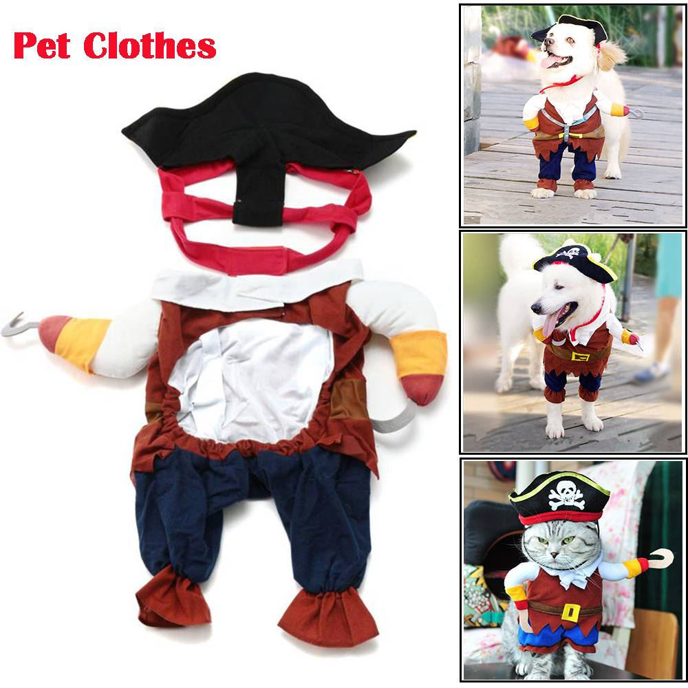 Dog Cat Pet Christmas Halloween Show Party Fancy Dress Costume Outfit Clothes 1
