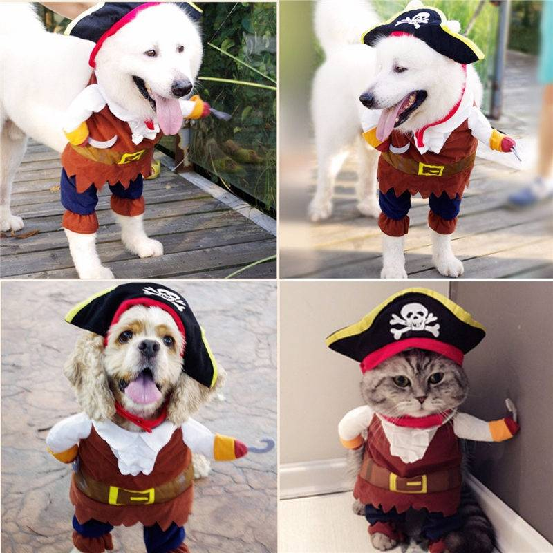 Dog Cat Pet Christmas Halloween Show Party Fancy Dress Costume Outfit Clothes 3