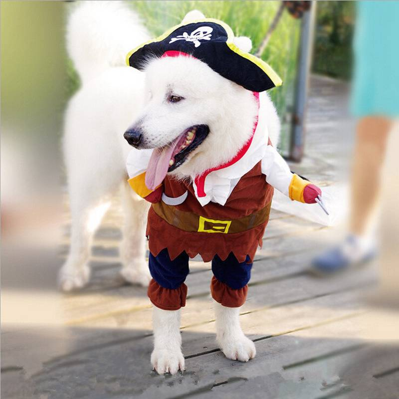 Dog Cat Pet Christmas Halloween Show Party Fancy Dress Costume Outfit Clothes 9
