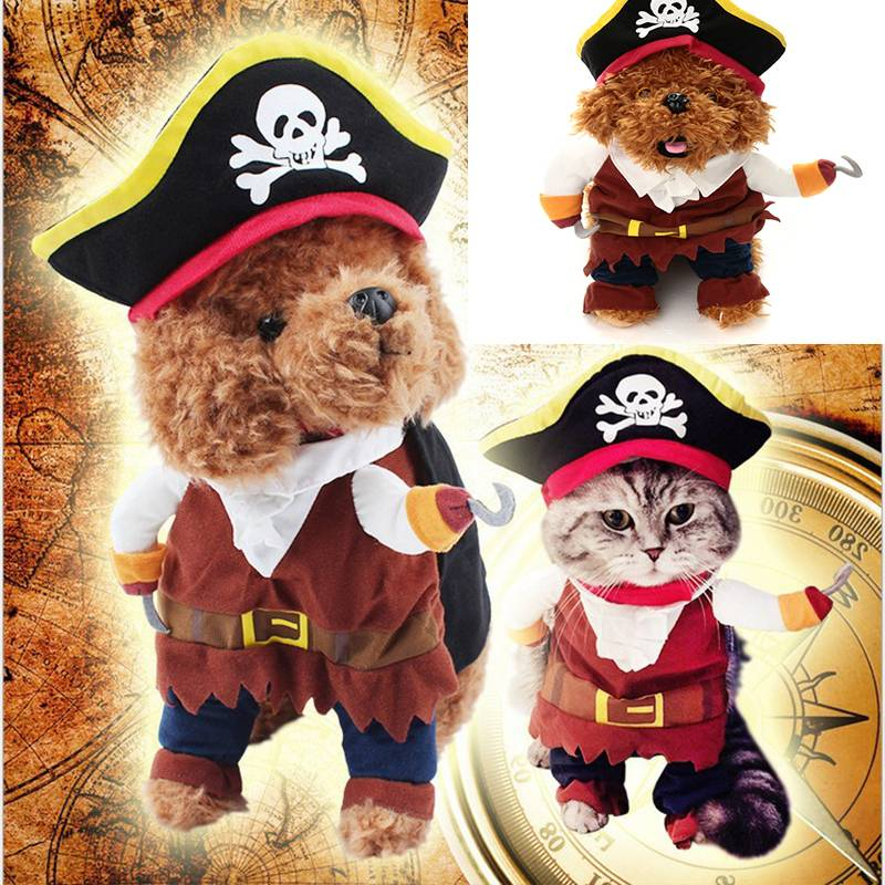 Dog Cat Pet Christmas Halloween Show Party Fancy Dress Costume Outfit Clothes 2