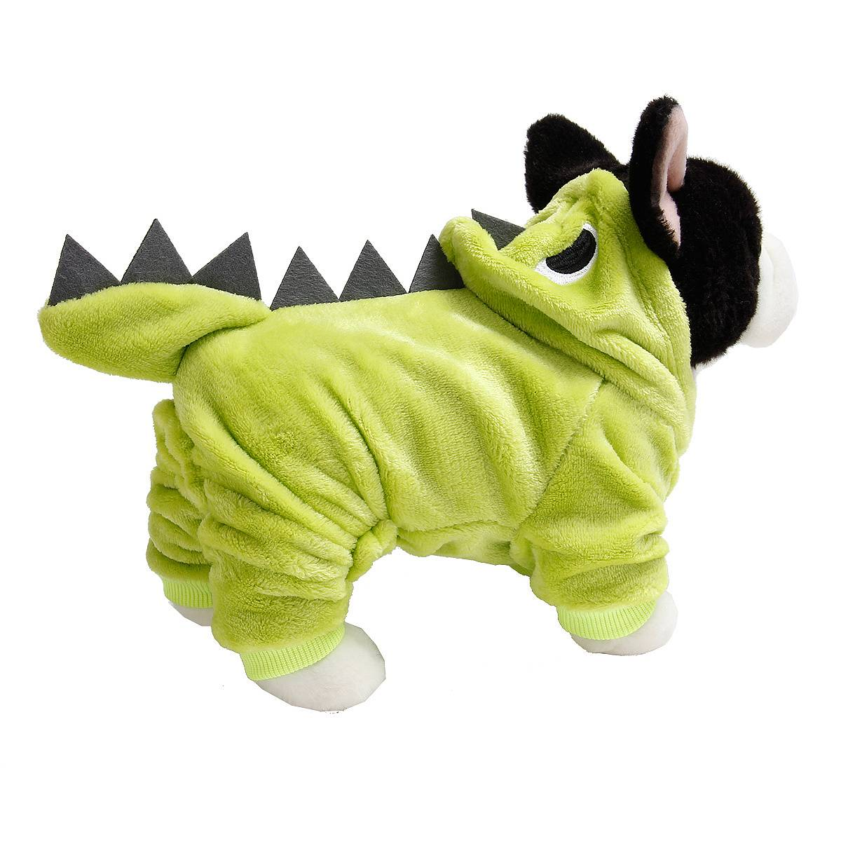 Puppy Dog Funny Pet Clothes Cat Halloween Dinosaur Hoodie Costume Outfit Coat 11