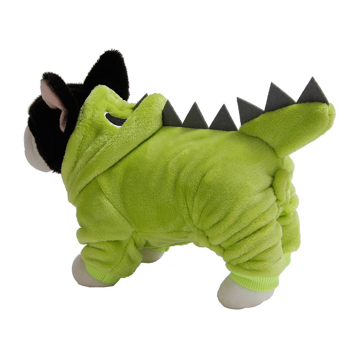 Puppy Dog Funny Pet Clothes Cat Halloween Dinosaur Hoodie Costume Outfit Coat 36