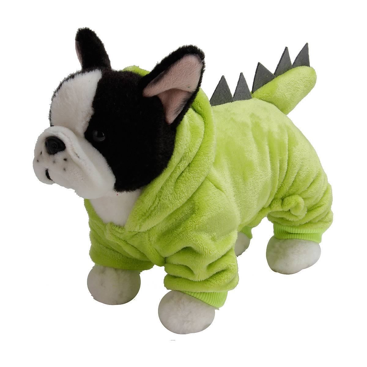 Puppy Dog Funny Pet Clothes Cat Halloween Dinosaur Hoodie Costume Outfit Coat 10