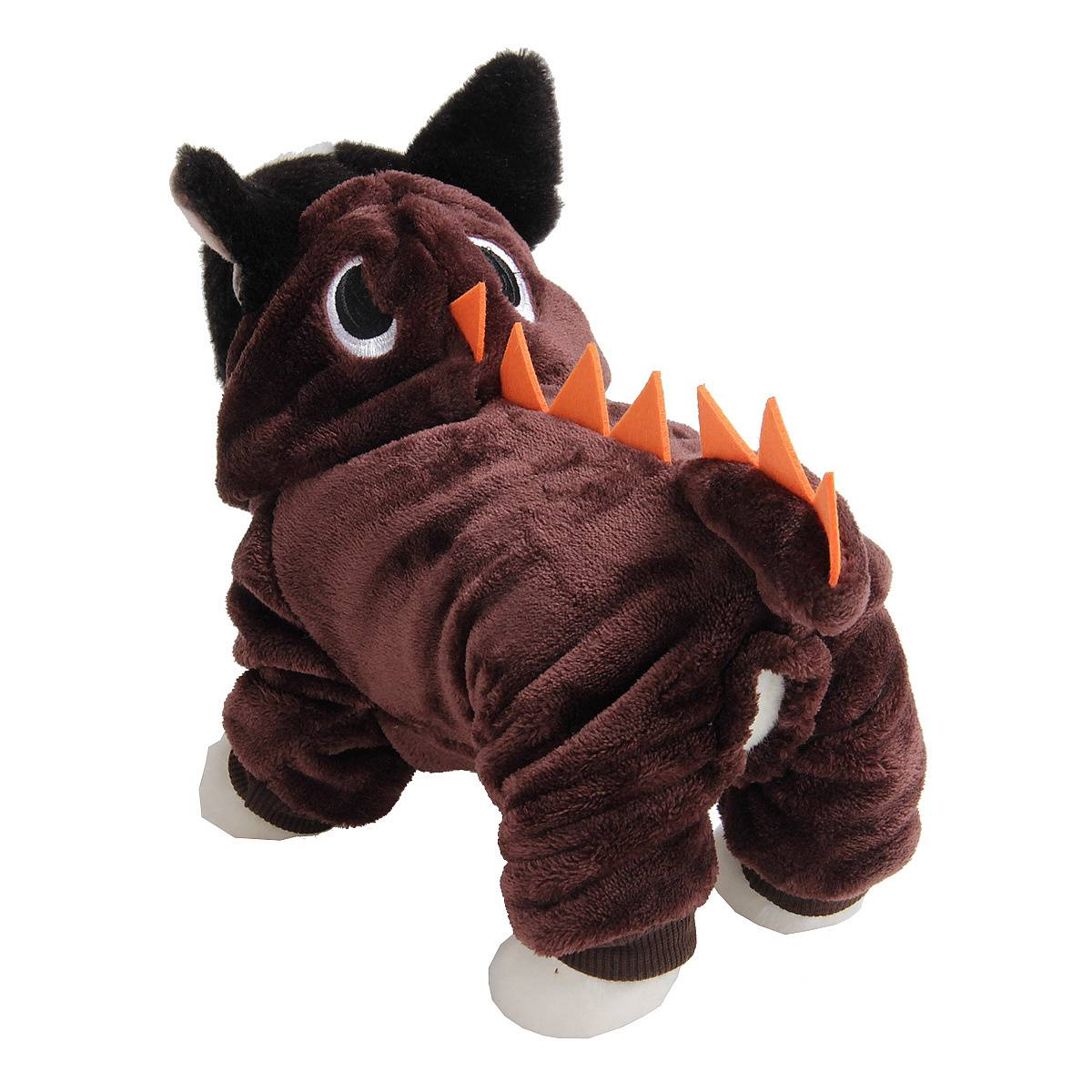 Puppy Dog Funny Pet Clothes Cat Halloween Dinosaur Hoodie Costume Outfit Coat 15