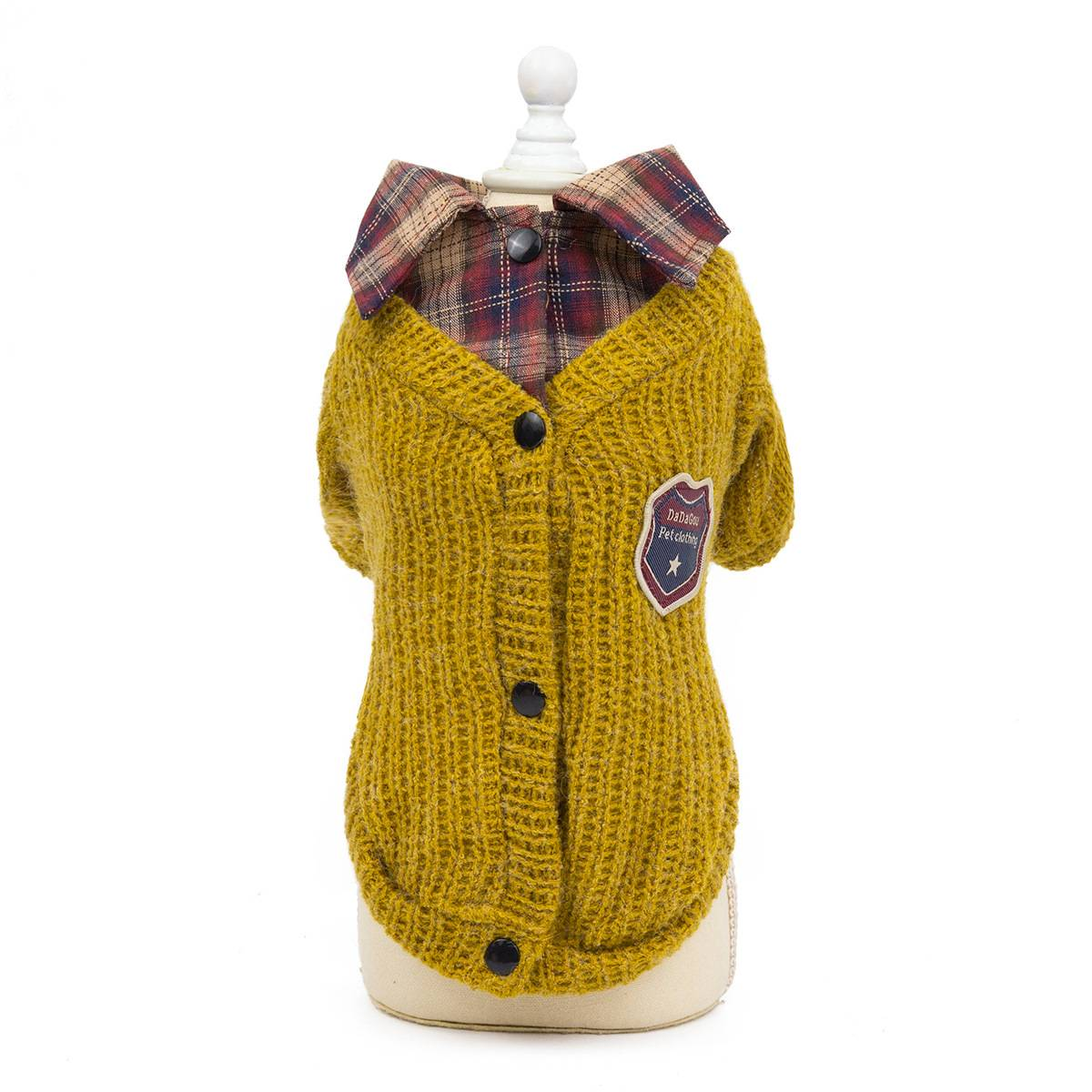 Small Dog Knitted Jumper Knitwear Pet Clothes Chihuahua ...