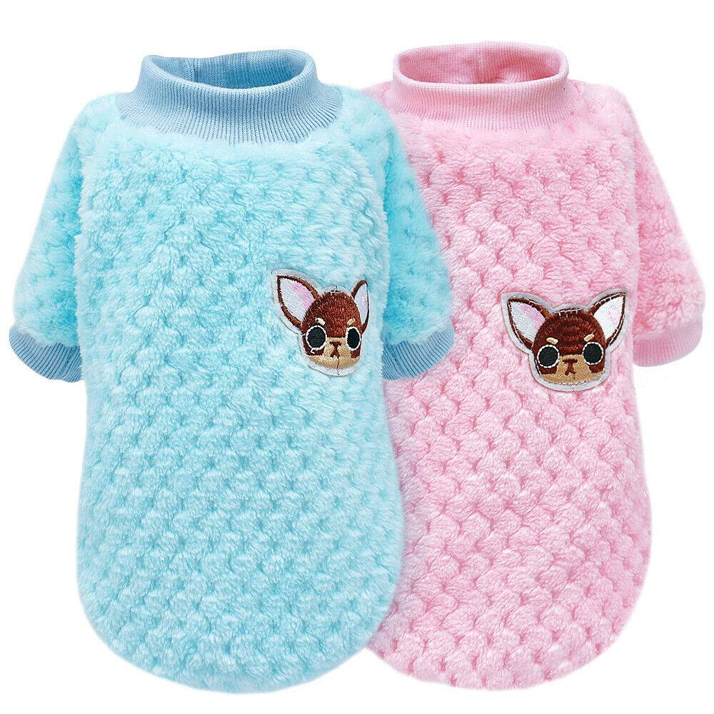 Pet Clothes Knitted Puppy Dog Jumper Sweater For Yorkie Chihuahua Small Dogs Cat 7