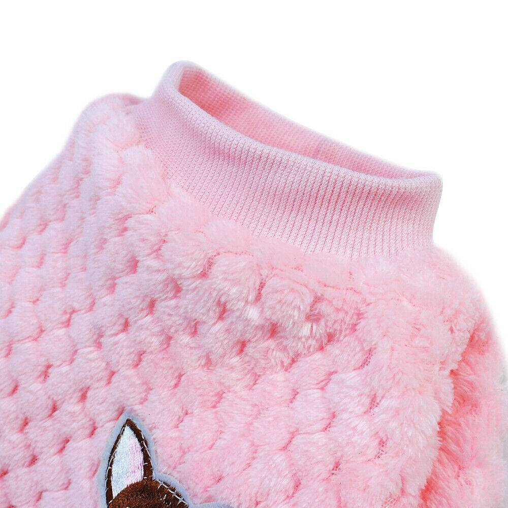 Pet Clothes Knitted Puppy Dog Jumper Sweater For Yorkie Chihuahua Small Dogs Cat 11