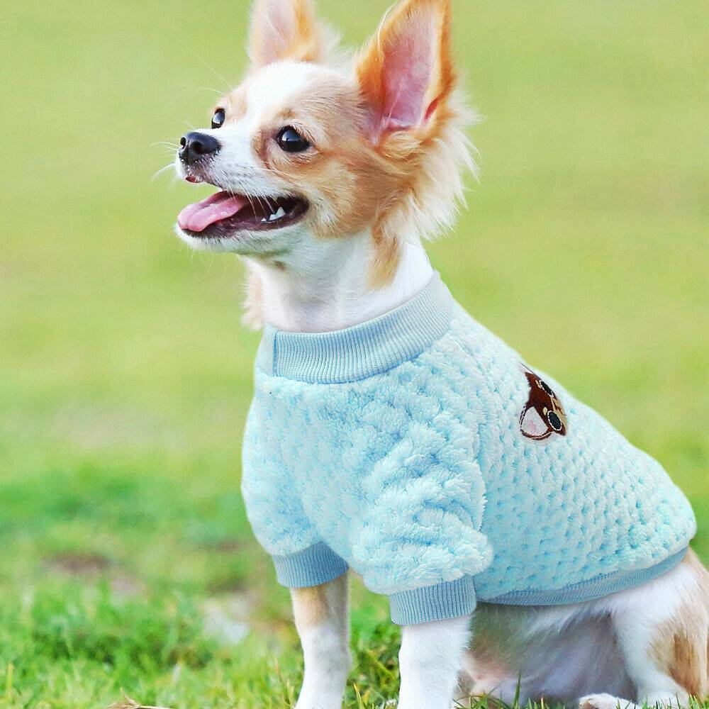 Pet Clothes Knitted Puppy Dog Jumper Sweater For Yorkie Chihuahua Small Dogs Cat 15