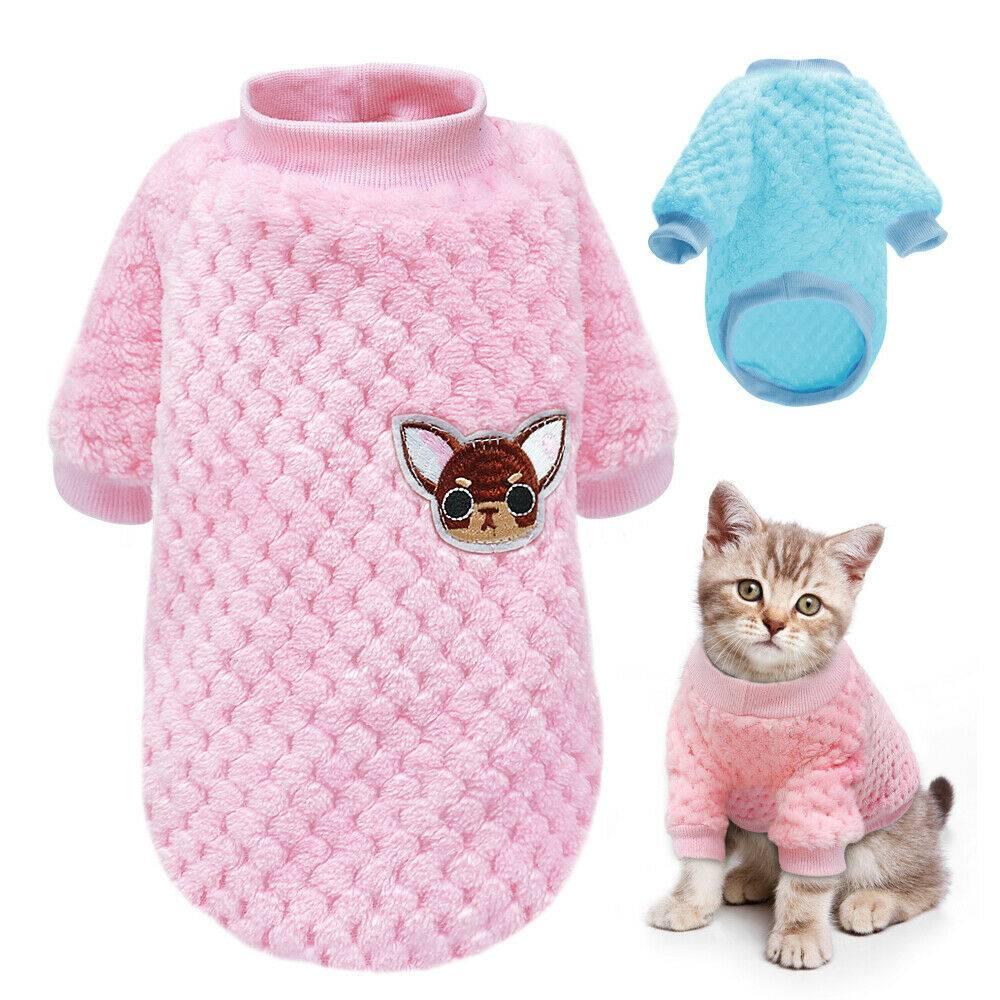 Pet Clothes Knitted Puppy Dog Jumper Sweater For Yorkie Chihuahua Small Dogs Cat 13