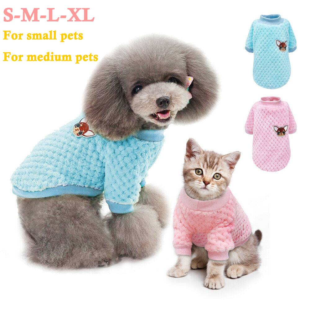 Pet Clothes Knitted Puppy Dog Jumper Sweater For Yorkie Chihuahua Small Dogs Cat 3
