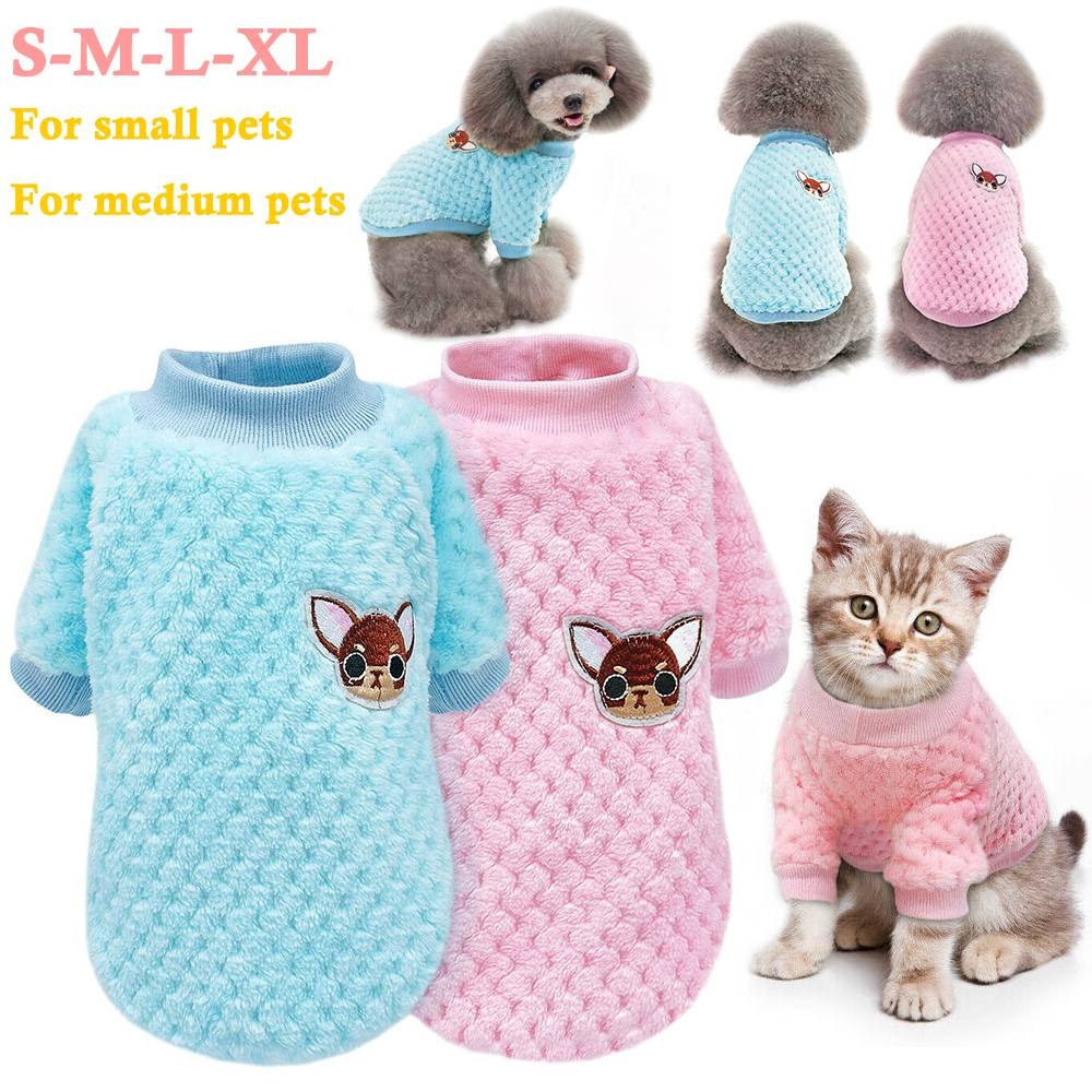 Pet Clothes Knitted Puppy Dog Jumper Sweater For Yorkie Chihuahua Small Dogs Cat 2