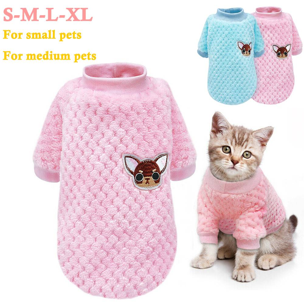 Pet Clothes Knitted Puppy Dog Jumper Sweater For Yorkie Chihuahua Small Dogs Cat 4