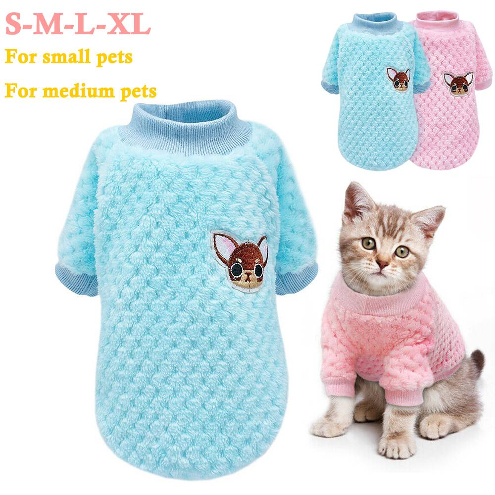 Pet Clothes Knitted Puppy Dog Jumper Sweater For Yorkie Chihuahua Small Dogs Cat 5