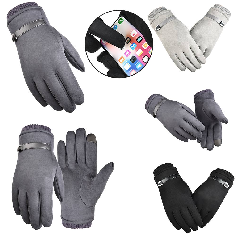 Winter Warm Men Women Touch Screen Windproof Thermal Outdoor Driving Gloves US