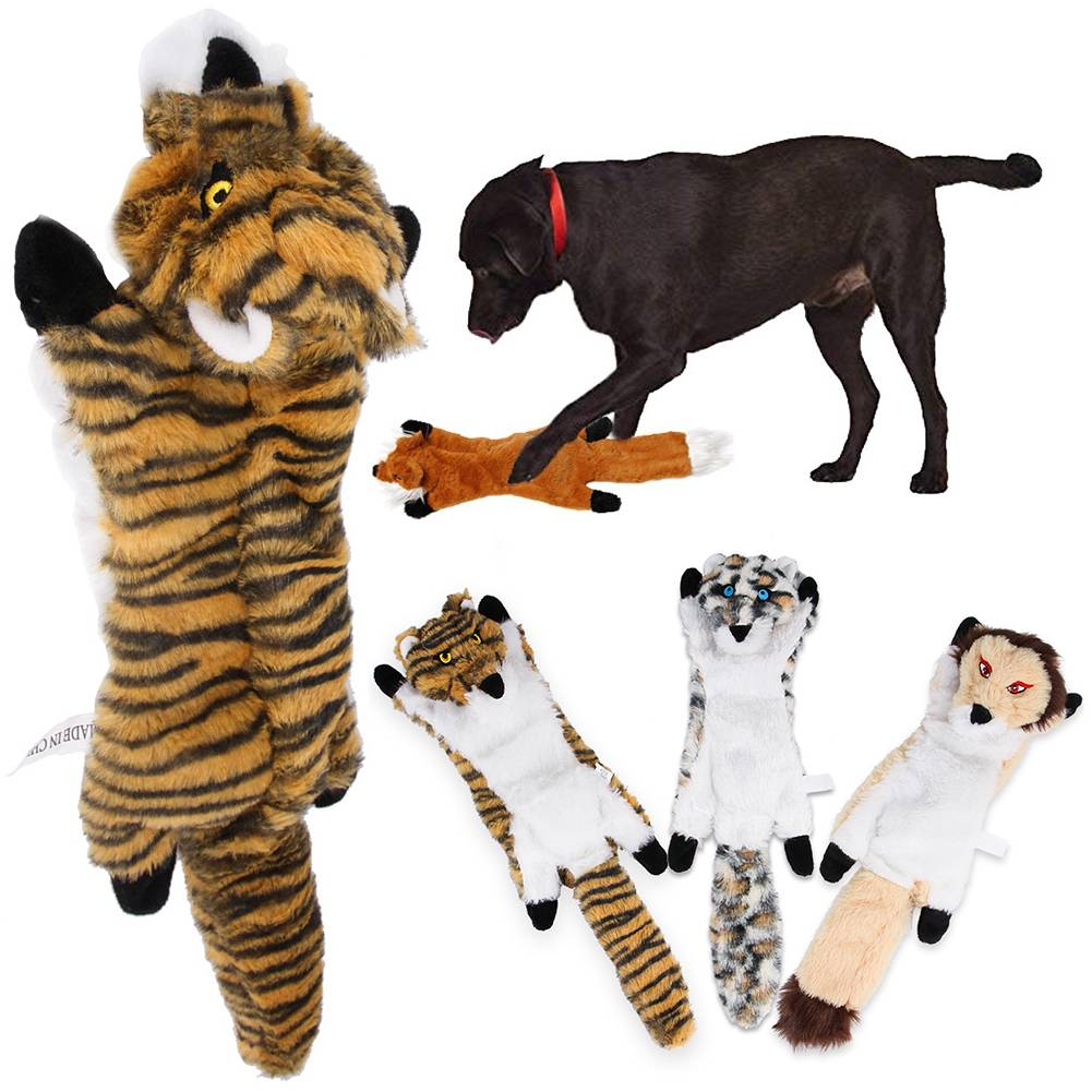 For Dog Toy Play Funny Pet Puppy Interactive Chew Squeaker Squeaky Sound Toys